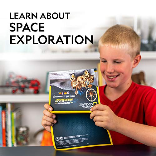 51eMw9 Bz9L - NATIONAL GEOGRAPHIC Solar Space Explorers - DIY Moon Buggy and Mars Rover Model Kit, Each Powered by a Solar Panel, Great STEM Toy for Girls and Boys Interested in Outer Space and Engineering
