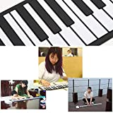 Lujex 61 Keys Roll Up Piano Upgraded Portable