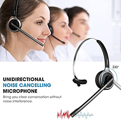 Mpow M5 Bluetooth V4.1 Headset Wireless
