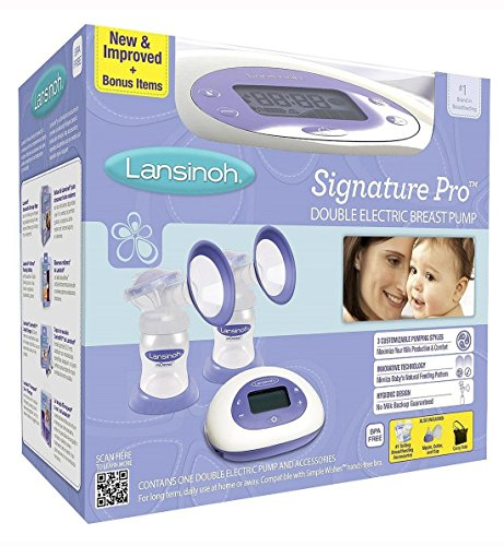 Lansinoh Double Electric Breast Pump, BPA-free