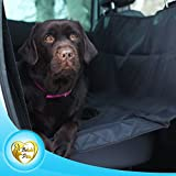 Beloved Pets Seat Cover for Dogs & Cats – Waterproof, Non-Slip, Machine Washable Cover & Hammock – Protects Back Seat from Hair & Dirt – for All Size Dogs - Trucks