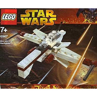 LEGO Star Wars 6967: Mini ARC-170 Starfighter: Toys & Games