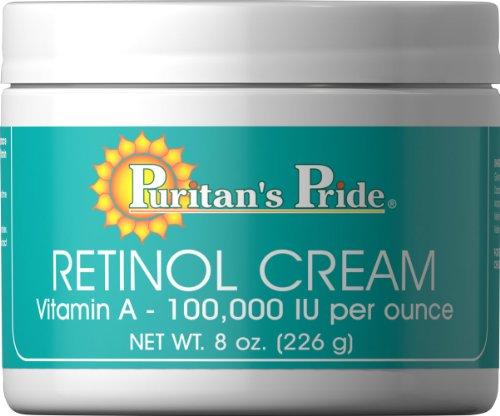 Puritan's Pride Retinol Cream (Vitamin A 100,000 IU Per