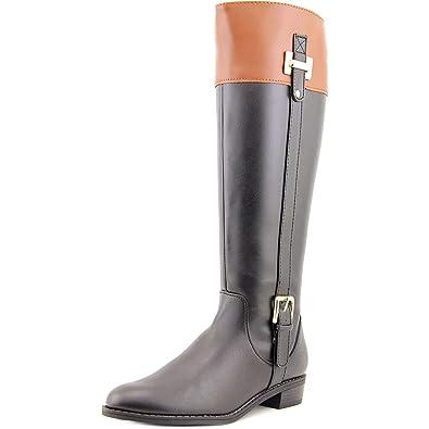 c064e82e027c Karen Scott Womens DELIEE Round Toe Knee High Riding Boots