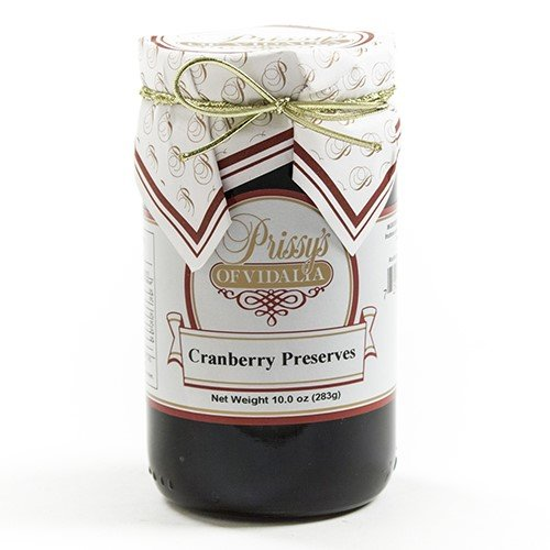 Cranberry Preserves by Prissys of Vidalia (10 ounce)