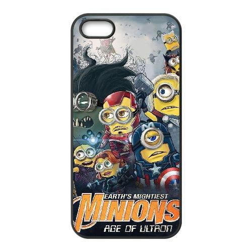Avengers Age Of Ultron coque iPhone 4 4S Housse téléphone Noir de couverture de cas coque EBDOBCKCO12308