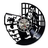 Joker Vintage Vinyl Record Decorative Wall Clock For Sale