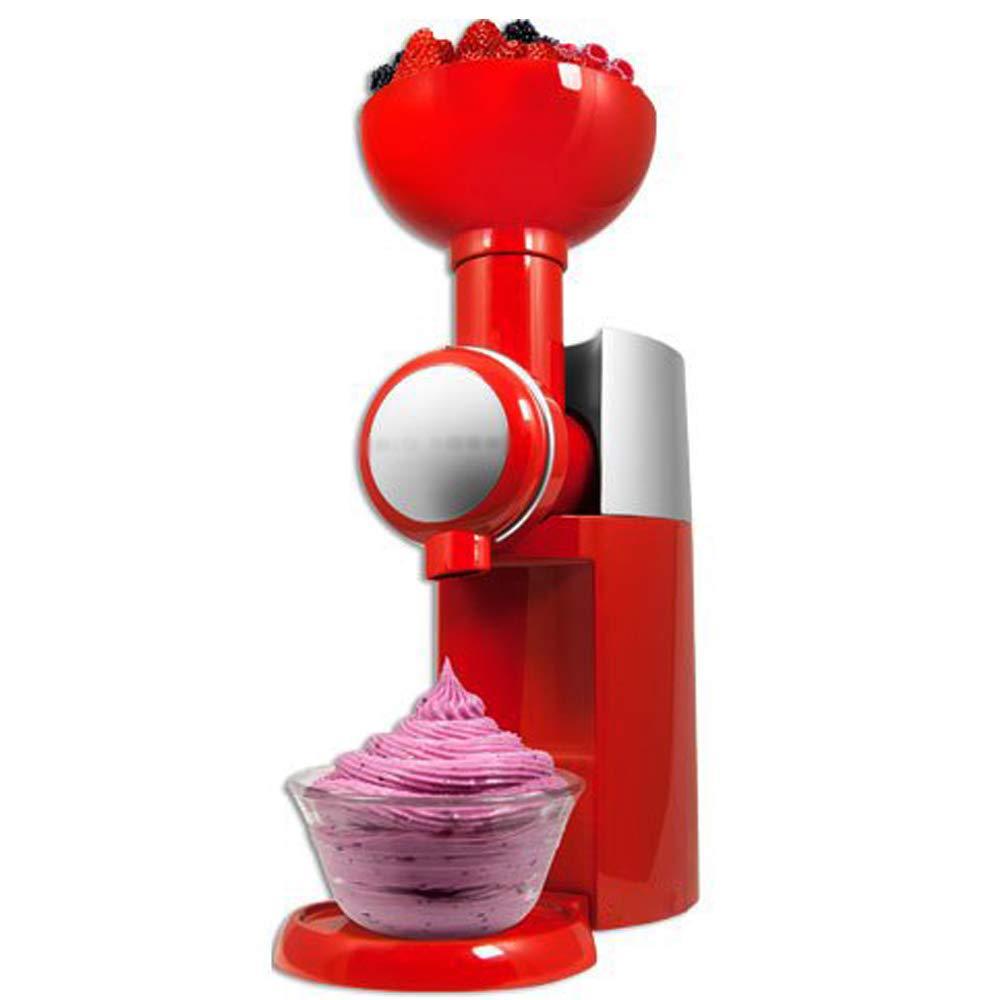 Self made Frozen Fruit machine icecream home full automatic mini slush machine household ice cream maker,Red