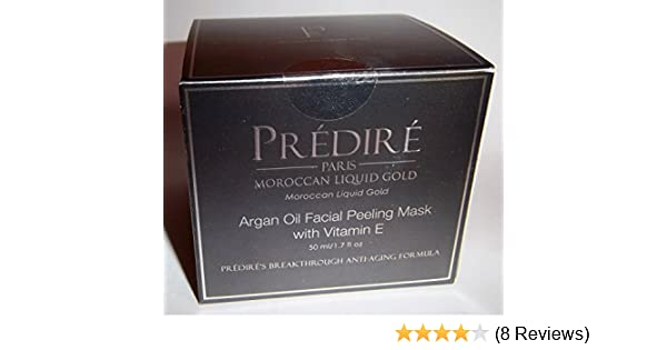 Amazon.com : Prèdirè Paris Moroccan Argan Oil Facial Peeling Mask : Beauty