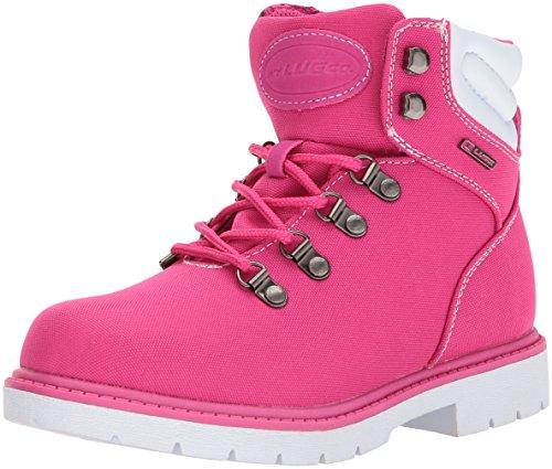 Lugz Womens Grotto Ballistic Fashion Boot Hibiscus / White