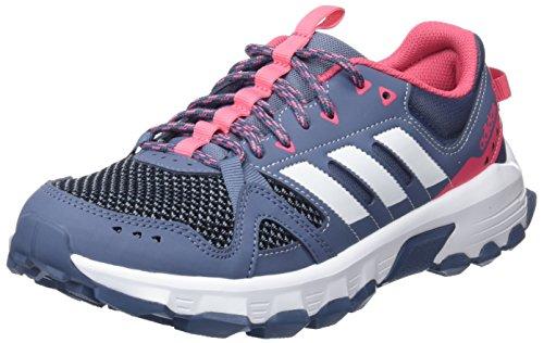 adidas Damen Rockadia Trail Traillaufschuhe Blau (Acenat/Ftwbla/Rostiz 000)