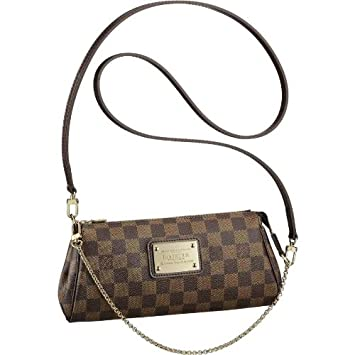 Amazon.com   Louis Vuitton Eva Clutch N55213   Cosmetic Tote Bags   Beauty 64633def2a5