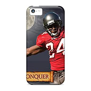 Durable Cases For The Iphone 5c- Eco-friendly Retail Packaging(tampa Bay Buccaneers)