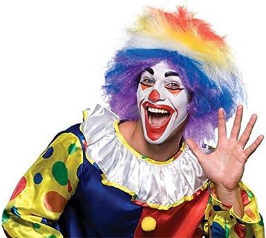 Rubies Costume Clown Around Rainbow Wig
