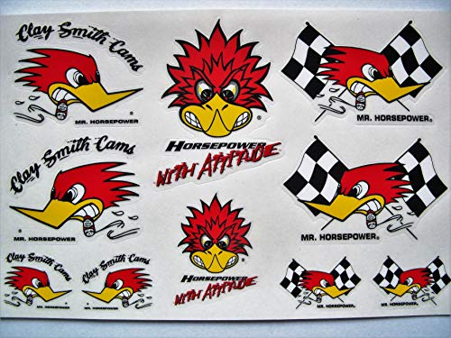 Mr Horsepower 10 Clay Smith Hot Rod Decals Muscle Car