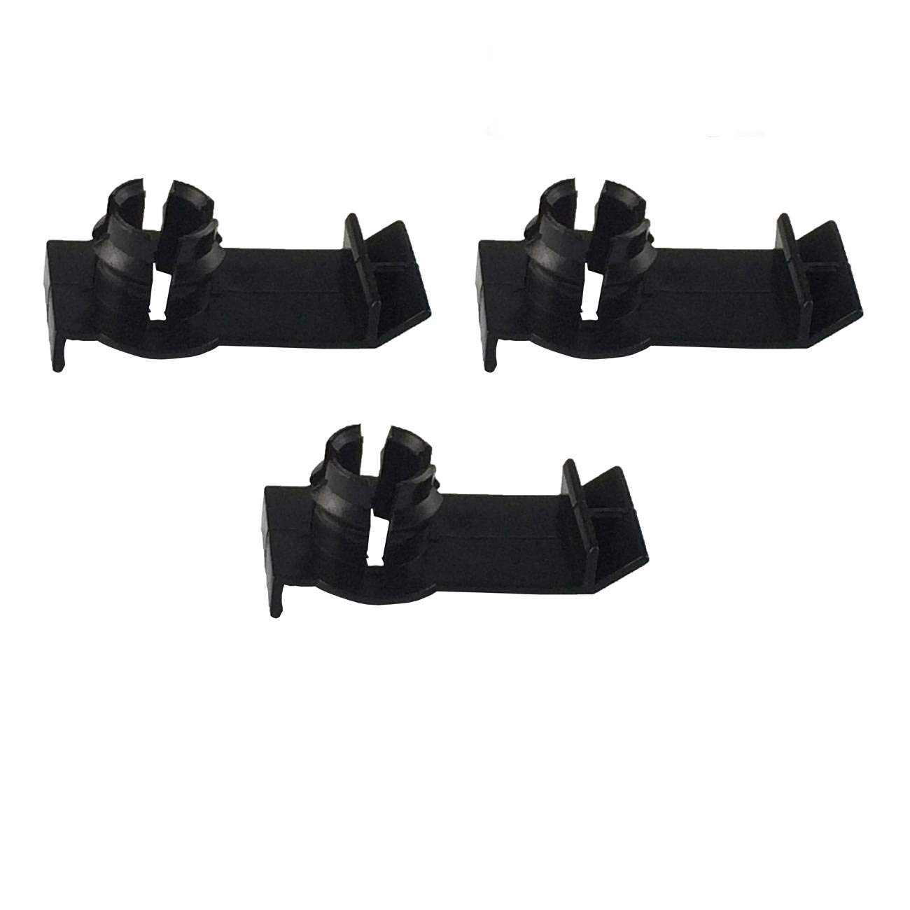 Black Friday Mgpro New 3pcs Front Window Regulator Clip For 2000-2006 BMW X5 4.8is 3.0i 4.4i 4.6is E53