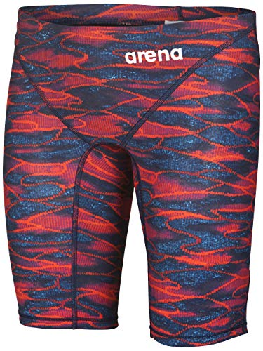Arena Powerskin ST 2.0 - Traje de baño para Hombre, Azul/Rojo, 32