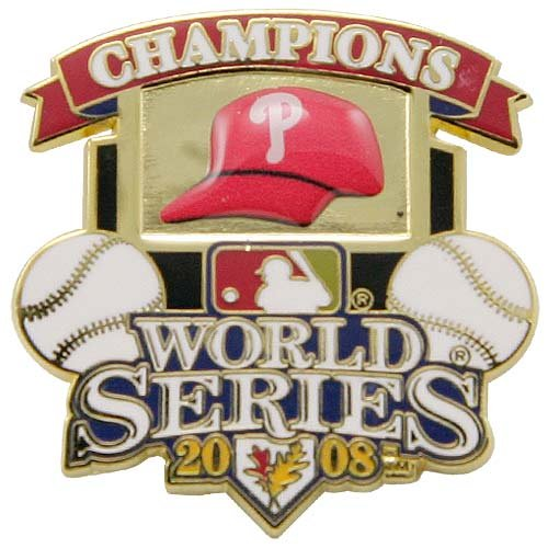 - Philadelphia Phillies 2008 World Series Champions Pin