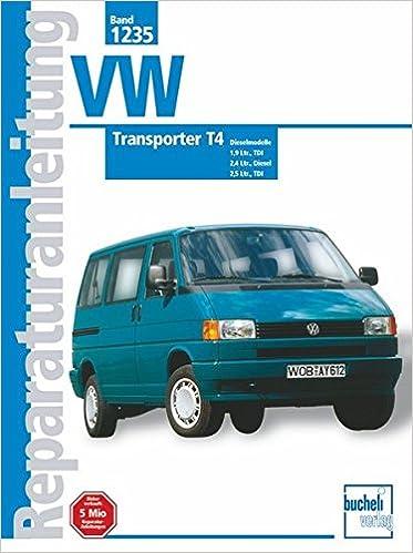 VW Transporter T4, Diesel ab Jan. 1996-1999 : 1,9 Ltr. Diesel, 1,9 ...