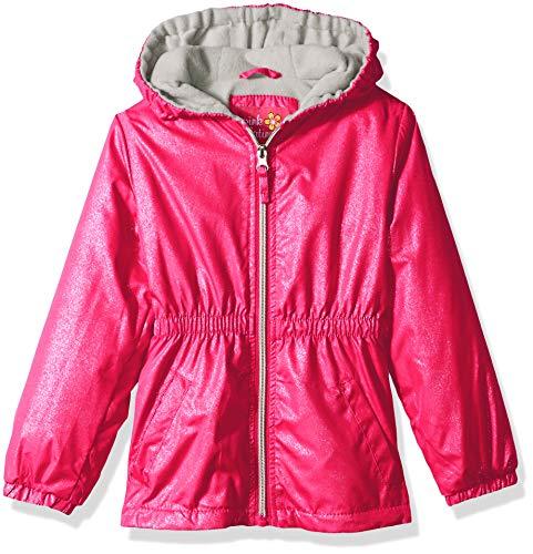 Pink Platinum Girls' Toddler Polar Fleece Anorak, Pink Peacock ()