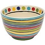 Thompson & Elm M. Bagwell Colors Ceramic Soup/Serving Bowl, Multicolor