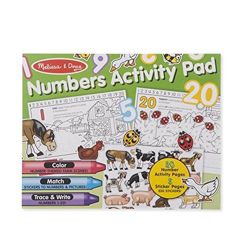 Melissa & Doug Numbers Activity Pad Sticker