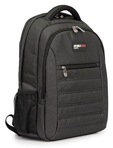 Mobile Edge Charcoal SmartPack 16 Inch Laptop Backpack with Separate Padded Tablet Pocket, Lightweight Design for Men, Women, Students MEBPSP5