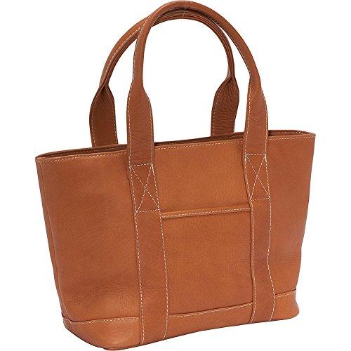 ledonne-leather-double-strap-small-pocket-tote-tan