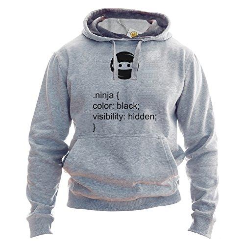 HTML Hoodie Ninja Hidden Geek Tops Gift Nerd Java Pullover