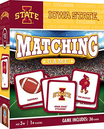 - MasterPieces NCAA Iowa State Cyclones Matching Game