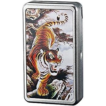 Amazon.com: Caja para cigarrillos con compartimento para ...
