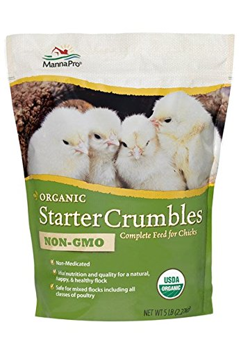 Manna Pro Organic Chick Starter Crumbles, 5 Lb