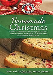 Homemade Christmas Cookbook with Photos