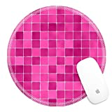 Best Luxlady Tile Patterns For Bathrooms - Luxlady Round Gaming Mousepad 23446726 ceramic glass colorful Review