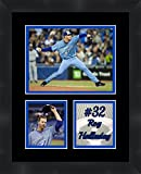 Roy Halladay Toronto Blue Jays Pitcher , 11 x 14 Matted Framed Photos Ready to hang