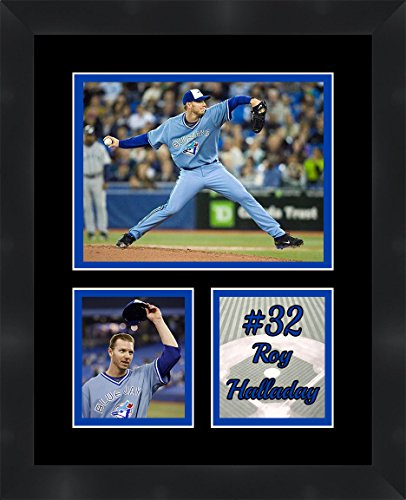 Roy Halladay Toronto Blue Jays Pitcher , 11 x 14 Matted Framed Photos Ready to hang (Blue Toronto Pitchers Jays)
