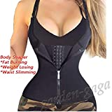 Hylong Waist Trainer Belt Zipper Body Shaper Corset Girdle Slimming Bustier Reductoras Colombianas Shaper Slimming Waist Cincher Corset Control Original Latex Girdle 3 Hooks Waist Trainer Blue XXL