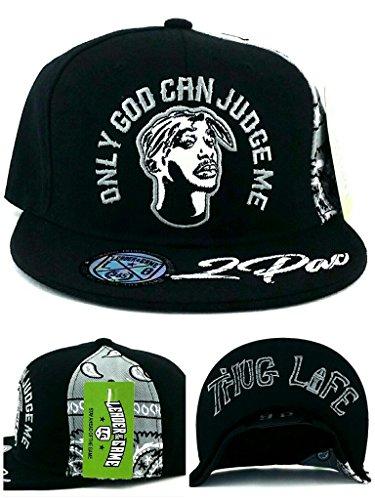 Tupac 2pac Only God Can Judge Me New Thug Life Black Gray Era Snapback Hat Cap