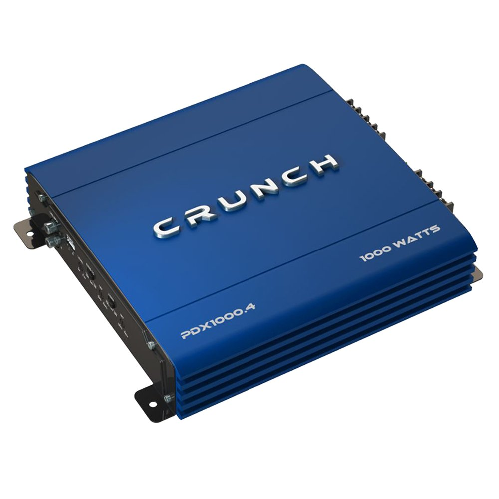 Crunch PowerDriveX 1000W 4-Channel Exclusive Blue A/B Car Amplifier