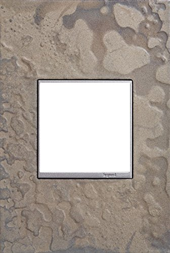 Adorne 1-Gang Wall Plate Hubbardton Forge Line in Burnished Steel