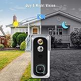 Wireless Video Doorbell Camera, Geekee 1080P