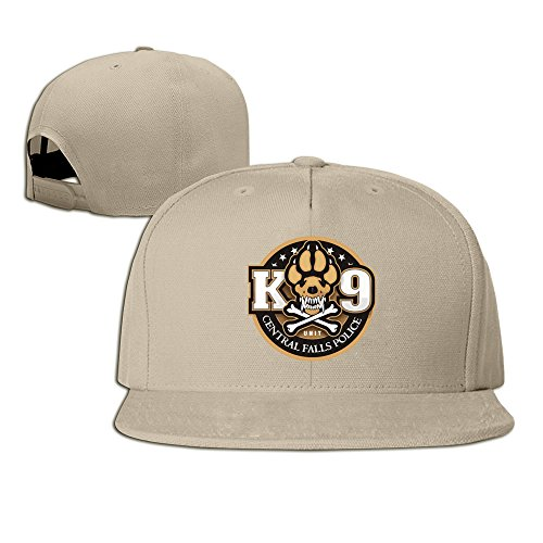K-9 Unit Central Falls Police Adjustable Six-panel Baseball Cap Natural
