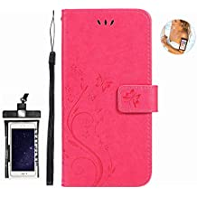 Flip Case for Samsung Galaxy Luxury Leather Bussiness Phone Case Cover for Bussiness Gifts with Free Waterproof Case