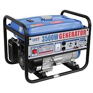 UST GG3500 3,500 Watt 6.5 HP 196cc 4-Stroke OHV Portable Gas Powered Generator