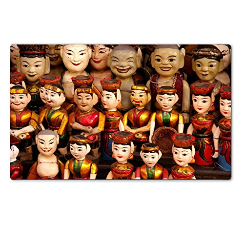 Theatre Costume Design Templates (Luxlady Natural Rubber Large TableMat Image ID 26206300 The water theatre dolls of Hanoi in Vietnam)