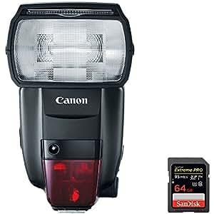 Canon (1177C002) 600EXII-RT Speedlite Professional Flash + ...