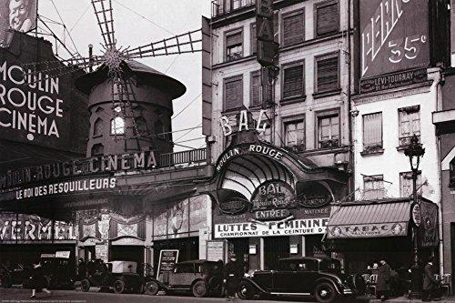 Paris Nightclub 1930 Archival Photo Poster Print 36 x 24in ()
