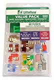 Littelfuse 00940566ZXA Micro2/Micro3 Super Value Pack (Pack of 60)