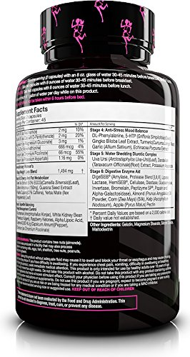 FitMiss Burn, Women's Weight Management, Fat Burner that Supports Appetite Control, Enhanced Mood, Energy & Metabolism, Capsules, 90 Count, 45 Servings