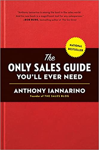 Book Title - The Only Sales Guide You'll Ever Need